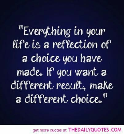 Image result for everything is a choice