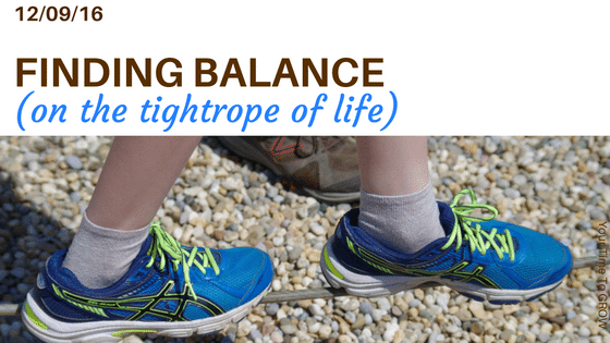 finding balance on the tightrope of life coaching your time to grow self care