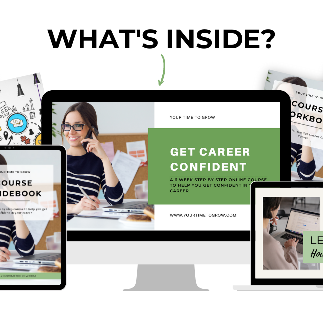 Get Career Confident Course YourTime To Grow Coaching 2